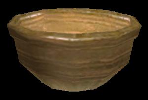 Ceramic bowl from Morrowind (source: elderscrolls.wikia.com)