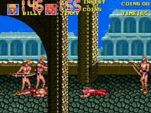 Double Dragon 3: The Rosetta Stone (Arcade, 1990)