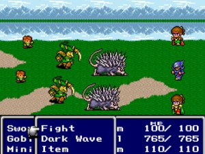 Final Fantasy IV, 1991 (source: http://www.pcauthority.com.au)