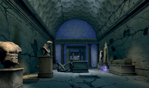 The classical museum becomes a ruin: Legendary (PC: 2008).
