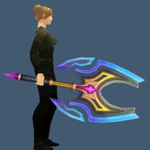 The epic axe: Legacy. Source: wowtransmog.com