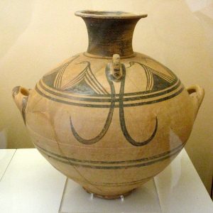 LHIIIC Amphora from Olympia (photo D. Diffendale)