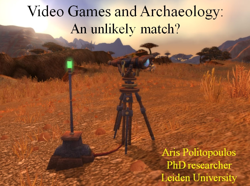 Archaeogaming at the University of Leiden (Guest Post