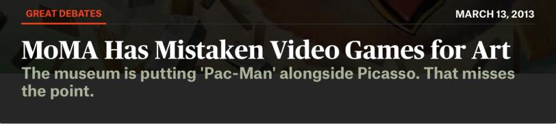 Headline Courtesy of The New Republic