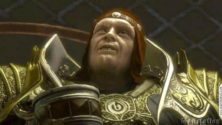 King Botan (played by Andy Serkis) in Heavenly Sword (Ninja Theory, 2007)