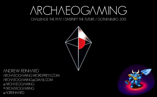 Archaeogaming Cover Slide
