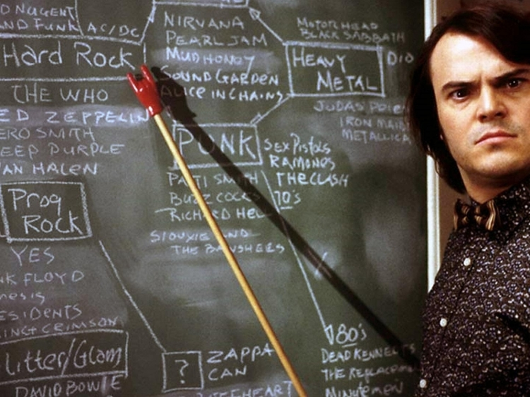 Image: School of Rock, Paramount Pictures