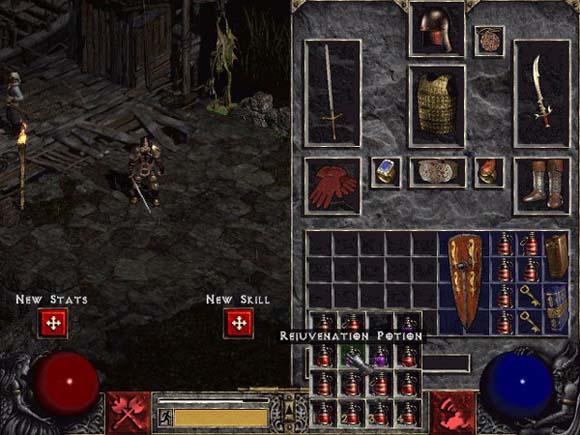 Diablo II Inventory (Image: Gamasutra)