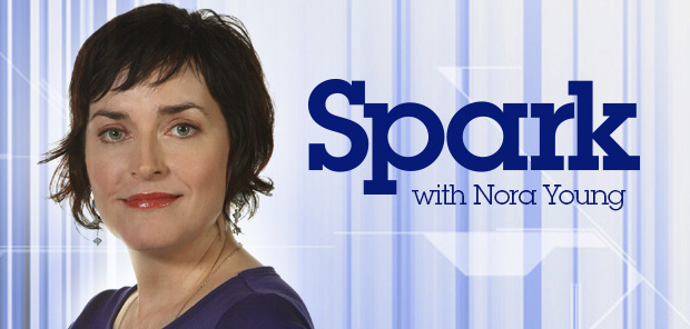 (Nora Young, host of CBC Radio's Spark. Image: CBC)