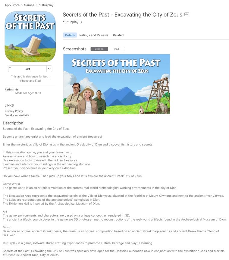SecretsOfThePast