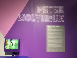 A shrine to Peter Molyneux including Fable III.