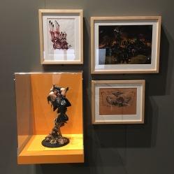 Brütal Legend art and model.