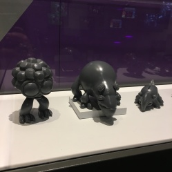 3D models from Spore.