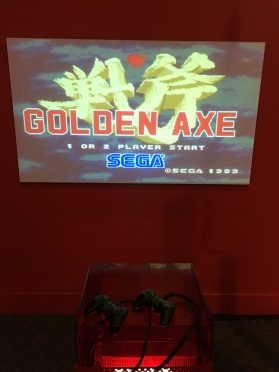 I used to love to play Golden Axe, and played it again here.