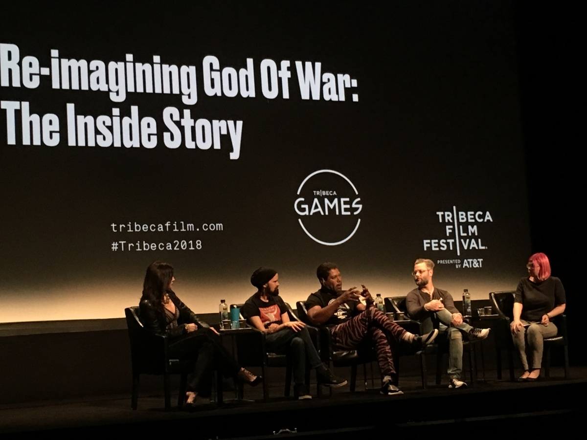 Tomb Raider and God of War at the TriBeCa Games Festival
